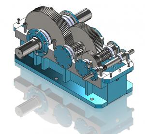 Segor Industries - Réducteurs à engrenage trains parallèles